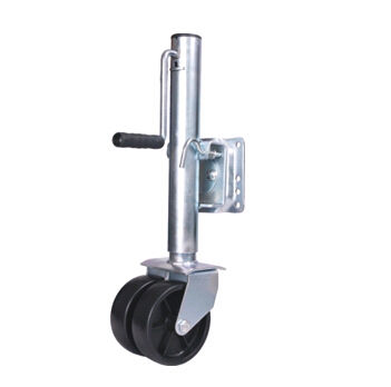 Anti - Vibration Boat Trailer Jack Wheel , 1500 Lbs Durable Trailer Jack Wheel